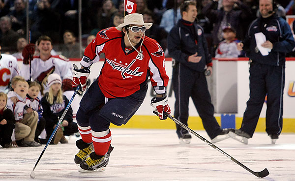 Ovechkin\'s Tilley Hat vs. Babcock\'s Fedora. Who ya got?